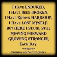 I have endured
